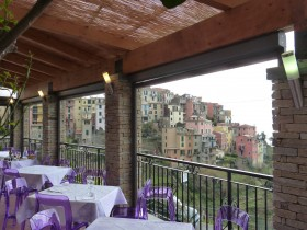 The terrace - CECIO Ristorante Camere