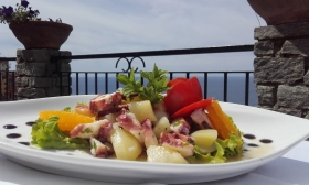 Sea food up blue sea - CECIO Ristorante Camere