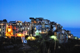 The village at sunset - CECIO Ristorante Camere