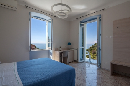 Rooms with air conditioning and balcony sea view - CECIO Ristorante Camere